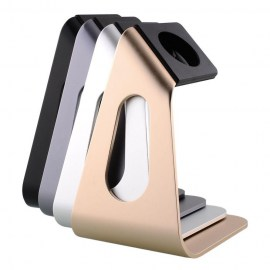 New-Convenient-Gold-Aluminium-Station-Watch-Stand-Holder-For-Apple-Watch-